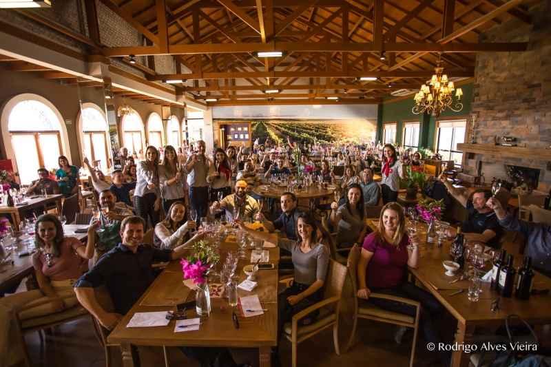Almoço na Vinícola Guatambu, em Dom Pedrito: região da Campanha mostra seu potencial RODRIGO ALVES VIEIRA /DIVULGAÇÃO/JC