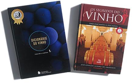 Dicionário do vinho, de Tagliari e Campos, Editora Companhia Nacional